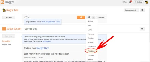 Widget SMS Gratis di Blogspot
